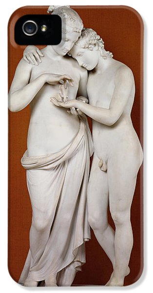 Cupid And Psyche IPhone 5 / 5s Case by Antonio Canova