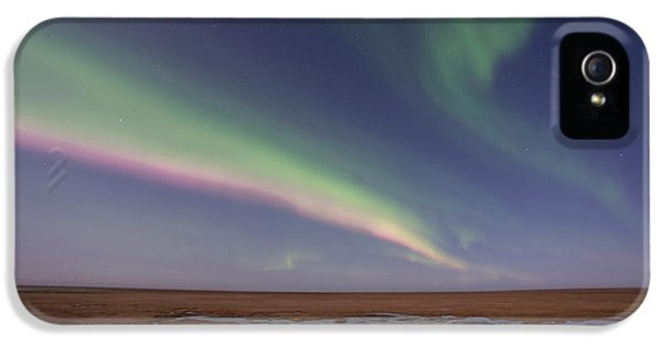 Curtains Of Colored Northern Lights IPhone 5 Case by Hugh Rose