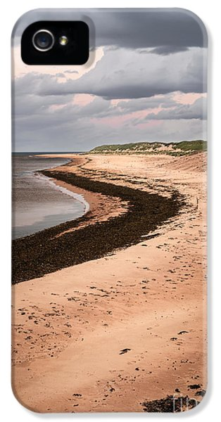 Curves On Beach IPhone 5 Case by Elena Elisseeva