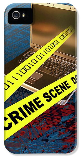 Cyber Crime IPhone 5 Case