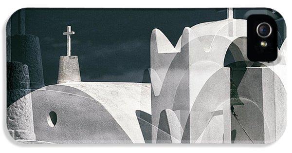 Cross iPhone 5 Case - Cycladen Crosses by Hans-wolfgang Hawerkamp