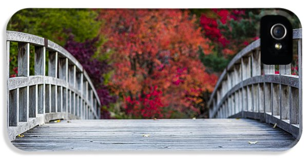 IPhone 5 Case featuring the photograph Cypress Bridge by Sebastian Musial