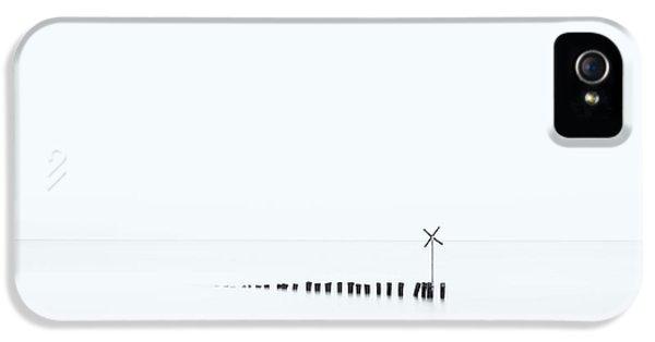 Cross iPhone 5 Case - D??? X by Jean-marc Aloy