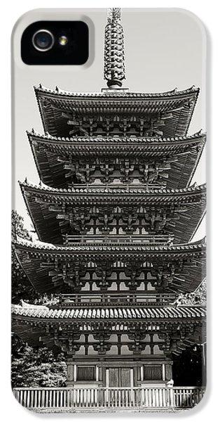 Daigo-ji Pagoda - Japan National Treasure IPhone 5 Case