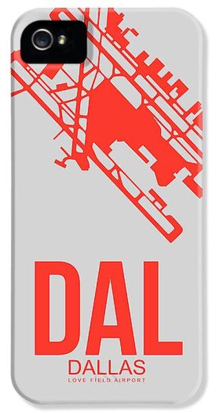 Dallas iPhone 5 Case - Dal Dallas Airport Poster 1 by Naxart Studio