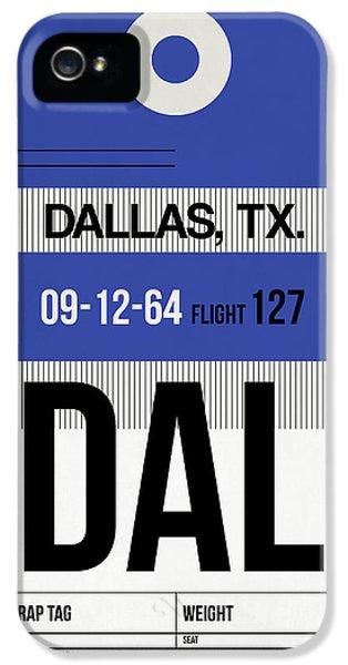 Dallas iPhone 5 Case - Dallas Airport Poster 1 by Naxart Studio