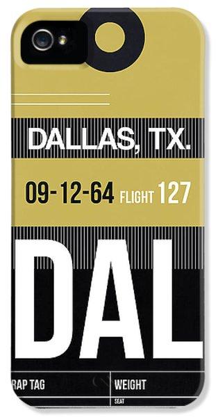 Dallas iPhone 5 Case - Dallas Airport Poster 2 by Naxart Studio