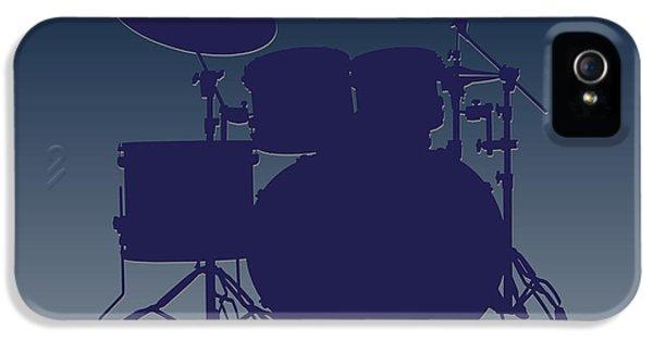 Dallas Cowboys Drum Set IPhone 5 Case by Joe Hamilton
