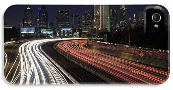 Dallas Night IPhone 5 / 5s Case by Rick Berk