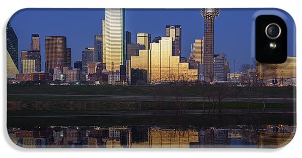 Dallas Twilight IPhone 5 / 5s Case by Rick Berk