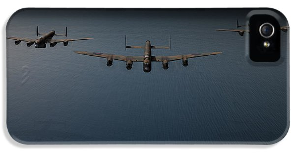 Dambusters Second Flight IPhone 5 Case by Gary Eason