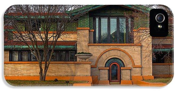 Dana Thomas House Springfield I L IPhone 5 Case by Steve Gadomski