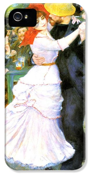 Dance At Bougival IPhone 5 Case by Pierre Auguste Renoir