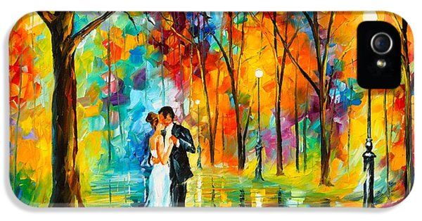 Dance Of Love IPhone 5 Case by Leonid Afremov