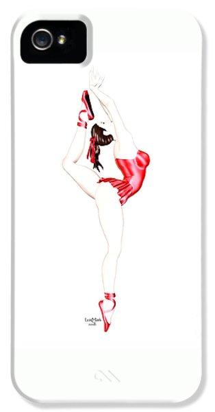 Luxmaris iPhone 5 Case - Dancer by Renate Janssen