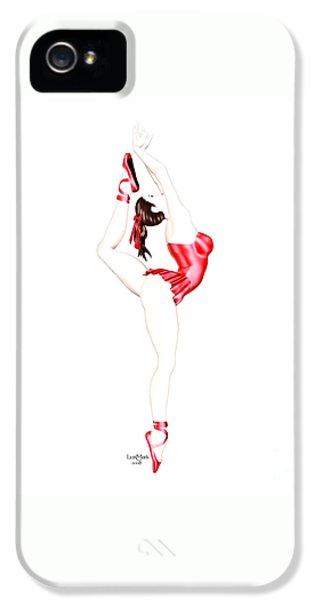 Dancer IPhone 5 Case by Renate Janssen