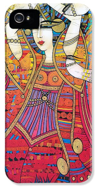 Dancer With Doves IPhone 5 Case
