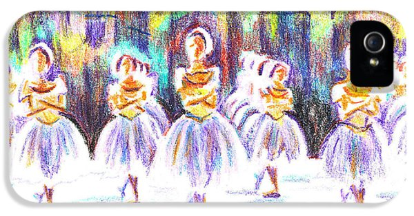 Dancers In The Forest II IPhone 5 / 5s Case by Kip DeVore