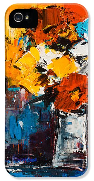 Dancing Colors IPhone 5 Case by Elise Palmigiani