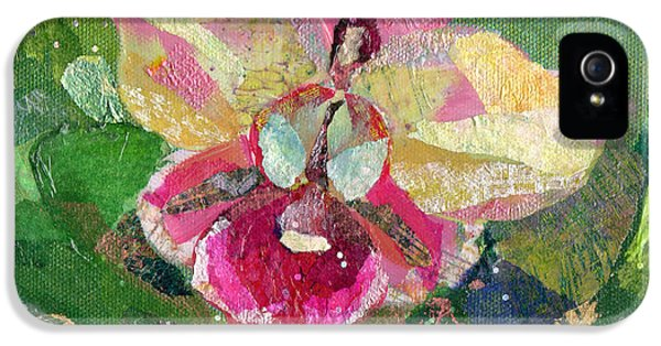 Orchid iPhone 5 Case - Dancing Orchid I by Shadia Derbyshire