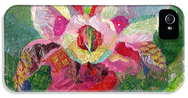 Dancing Orchid II IPhone 5 Case by Shadia Derbyshire