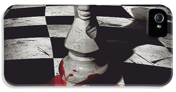 Dark Knight Of The Grand Chessboard IPhone 5 Case