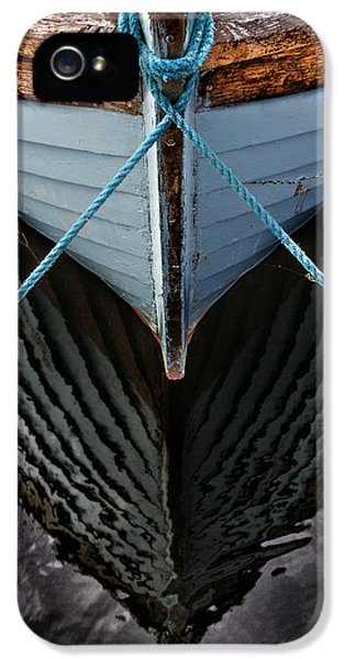 Boat iPhone 5 Case - Dark Waters by Stelios Kleanthous