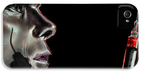 Darkly Dreaming Dexter IPhone 5 Case by Vinny John Usuriello