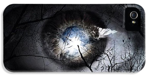 Beautiful iPhone 5 Case - Darkness Falls Across The Land The by Cameron Bentley