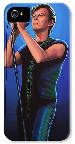 David Bowie 2 Painting IPhone 5 Case