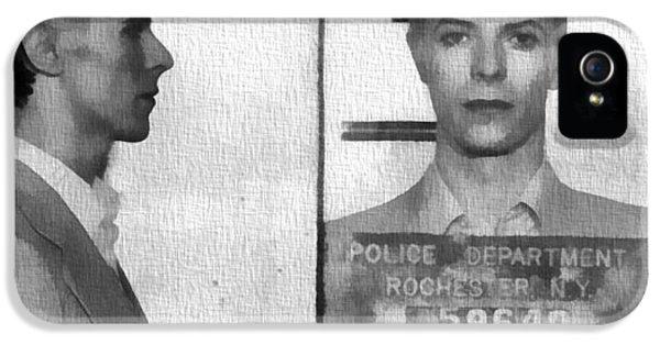 David Bowie Mug Shot IPhone 5 Case