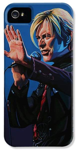 David Bowie Painting IPhone 5 Case