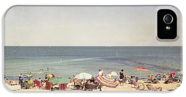 Day At The Beach IPhone 5 Case by Jillian Audrey Photography