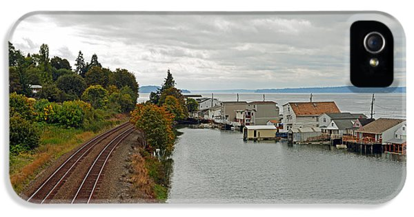 Day Island Bridge View 3 IPhone 5 Case