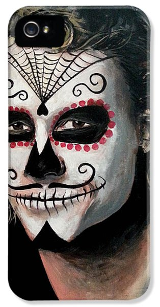 Day Of The Dead - Heath Ledger IPhone 5 Case