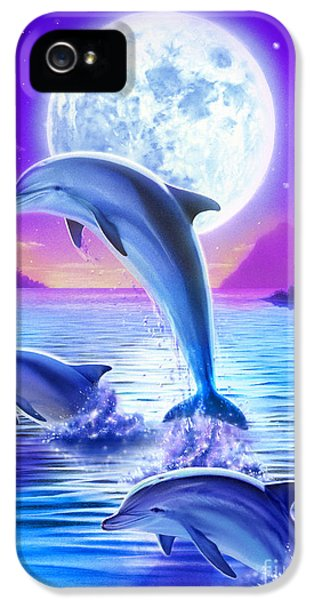 Day Of The Dolphin IPhone 5 / 5s Case by Robin Koni