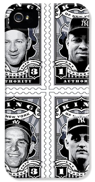 Dcla Kings Of New York Combo Stamp Artwork 2 IPhone 5 / 5s Case by David Cook Los Angeles