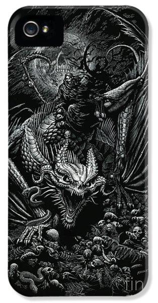Death Dragon IPhone 5 Case