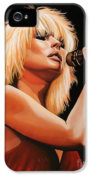 Deborah Harry Or Blondie 2 IPhone 5 Case by Paul Meijering