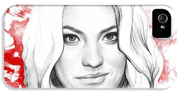 Debra Morgan - Dexter IPhone 5 Case by Olga Shvartsur