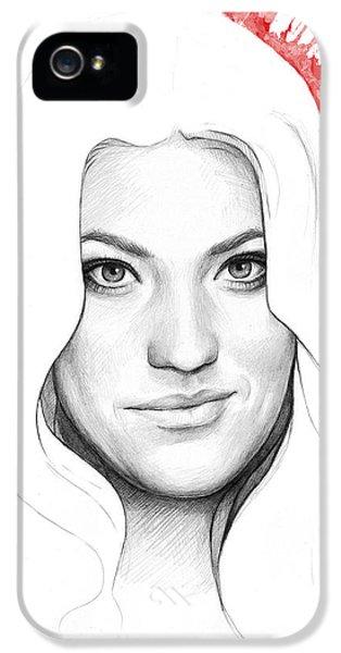 Debra Morgan Portrait - Dexter IPhone 5 Case by Olga Shvartsur