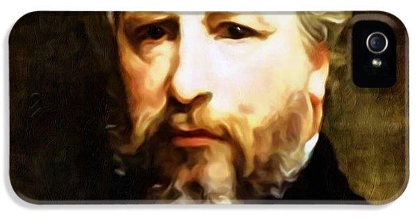 Dedication To William Adolphe Bouguereau IPhone 5 Case by Georgiana Romanovna