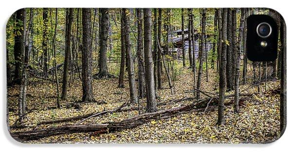 Deep Woods Cabin IPhone 5 Case by Tom Mc Nemar