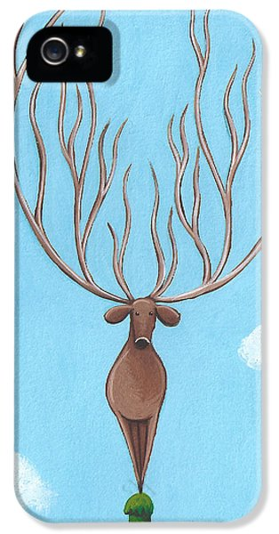 Deer Nursery Art IPhone 5 Case