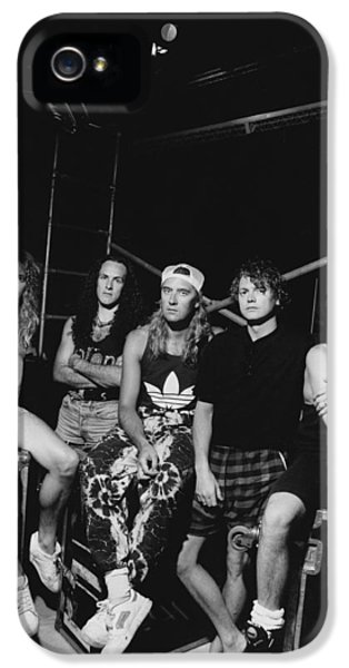 Def Leppard - Adrenalize Tour B&w 1992 IPhone 5 / 5s Case by Epic Rights
