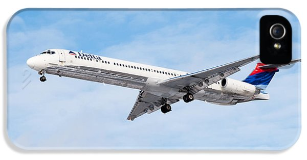Delta Air Lines Mcdonnell Douglas Md-88 Airplane Landing IPhone 5 Case