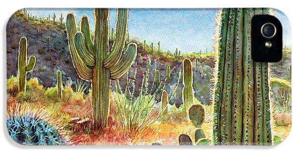 Desert Beauty IPhone 5 Case by Frank Robert Dixon
