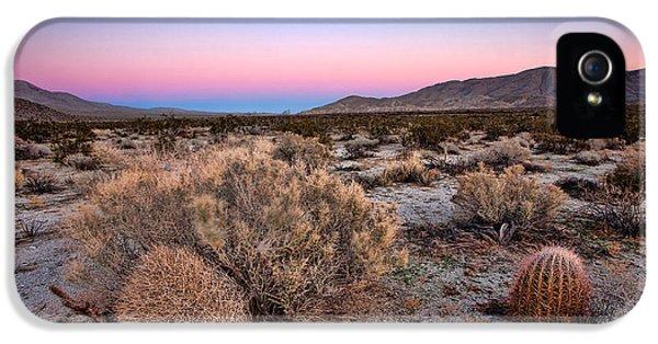 Desert iPhone 5 Case - Desert Twilight by Peter Tellone