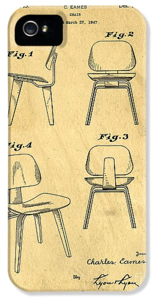 Designs For A Eames Chair IPhone 5 Case by Edward Fielding