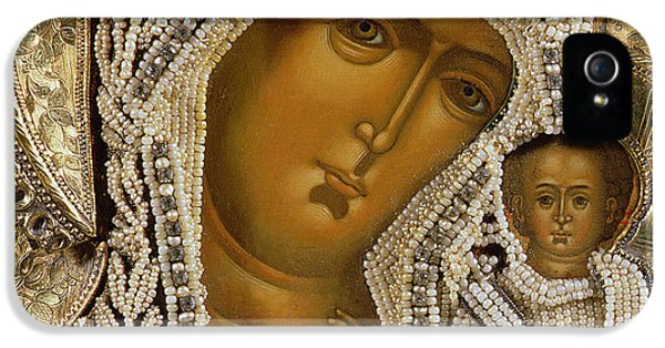 Detail Of An Icon Showing The Virgin Of Kazan By Yegor Petrov IPhone 5 Case